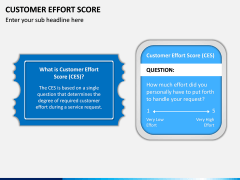 Customer Effort Score PPT Slide 1