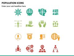 Population Icons PPT Slide 6