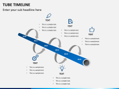 Timeline bundle PPT slide 46