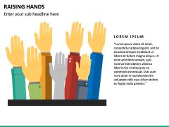 Raising Hands PPT Slide 17