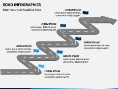 Road Infographics PPT Slide 14