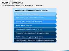 Work Life Balance PPT Slide 12