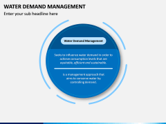 Water Demand Management PPT Slide 1