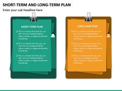 Short Term and Long Term Plan PPT Slide 25