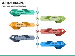Vertical Timeline PPT Slide 24
