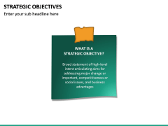 Strategic Objectives PPT Slide 14
