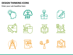 Design Thinking Icons PPT Slide 5