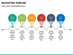 Recruiting Timeline PPT Slide 13