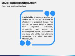 Stakeholder Identification PPT Slide 2