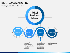 Multi Level Marketing (MLM) PPT Slide 1