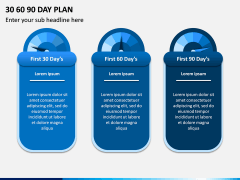 30 60 90 Day Plan PPT Slide 1