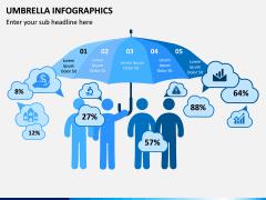 Umbrella Infographics PPT Slide 6