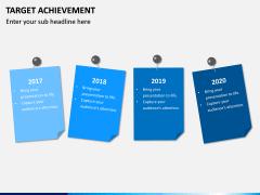 Target Achievement PPT slide 6