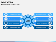 What We Do PPT Slide 3