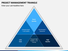 Project Management Triangle PPT Slide 5