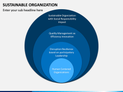 Sustainable Organization PPT Slide 11