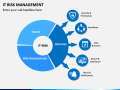 It Risk Management PPT Slide 1