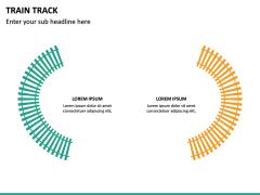 Train Track PPT Slide 21