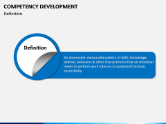 Competency Development PPT slide 1