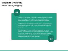 Mystery Shopping PPT Slide 16
