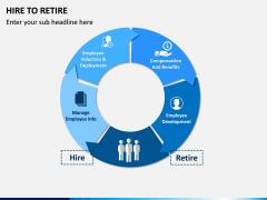 Hire to Retire PPT slide 1