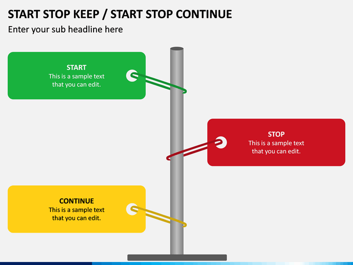 Start Stop Keep PPT Slide 1