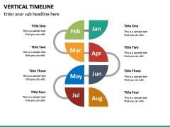 Vertical Timeline PPT Slide 14