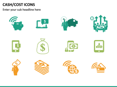 Cash Cost Icons PPT Slide 21
