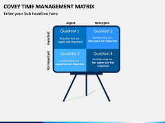 Covey Time Management Matrix PPT Slide 2