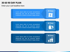 30 60 90 Day Plan PPT Slide 3