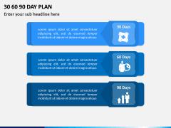 30 60 90 Day Plan PPT Slide 3