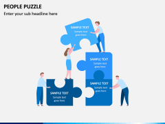 People Puzzle PPT Slide 9
