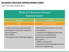Business process improvement PPT slide 24