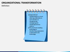 Organizational Transformation PPT Slide 1