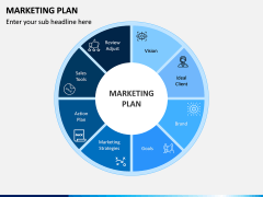 Marketing plan PPT slide 5