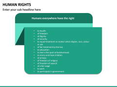 Human Rights PPT Slide 24