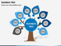 Business Tree PPT Slide 7
