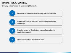 Marketing Channels PPT slide 12