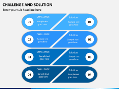 Challenge and Solution PPT Slide 1