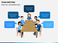 Team Meeting PPT Slide 1
