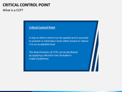 Critical Control Point PPT Slide 1
