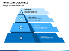 Triangle Infographics PPT Slide 5