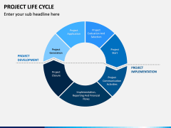 Project life cycle PPT slide 19