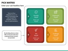 PICK Matrix PPT Slide 8