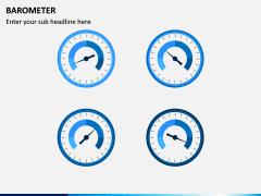 Barometer Icons PPT Slide 1