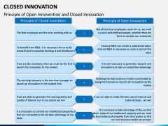 Closed Innovation PPT slide 12