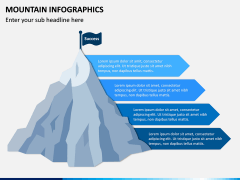 Mountain Infographics PPT Slide 3