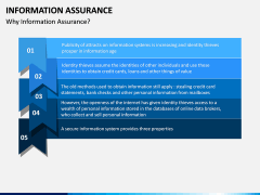 Information Assurance PPT slide 6