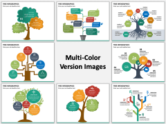 Tree Infographics PPT Slide MC Combined