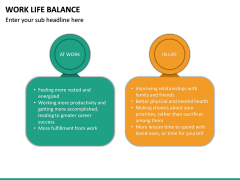 Work Life Balance PPT Slide 26